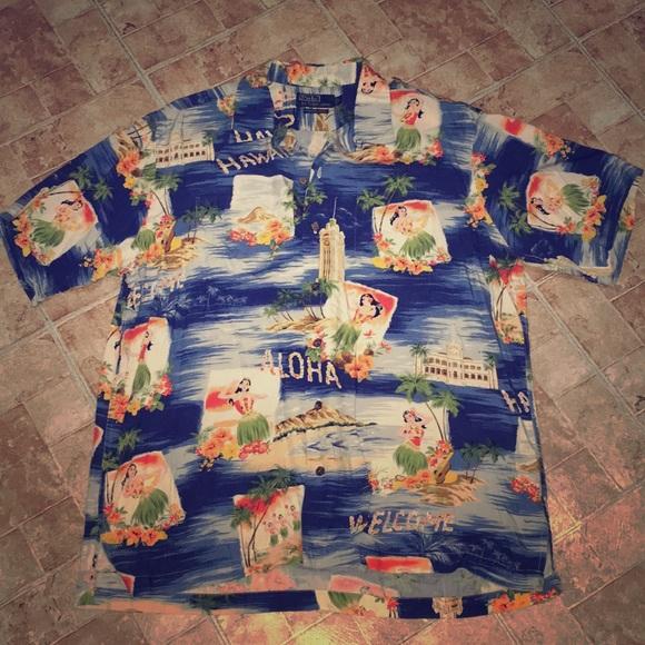 cbf3249e1 Polo Ralph Lauren Vintage Camp Hawaiian Shirt. M_5b03677b739d482715d7b9f3